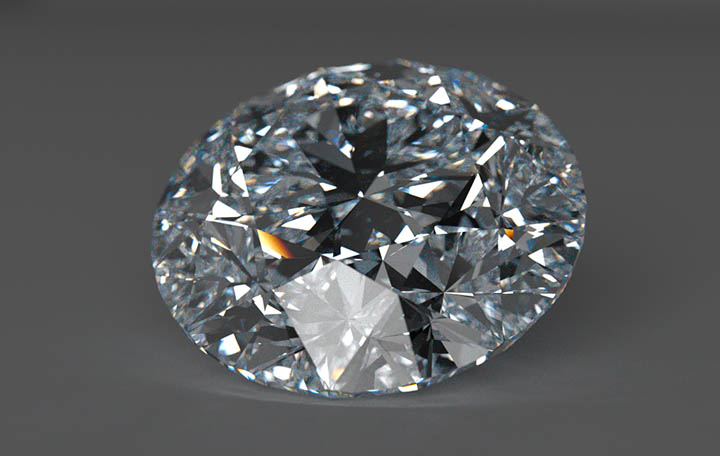 Настоящий алмаз