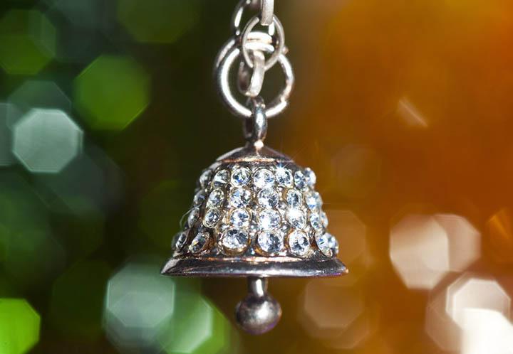 Колокол с алмазами