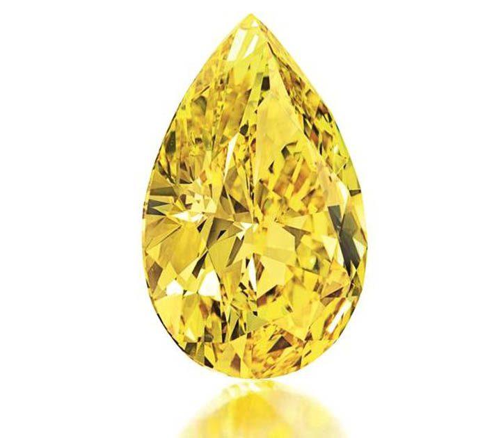 Желтый бриллиант