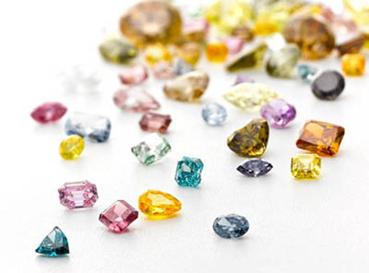 Цвет бриллианта и алмаза