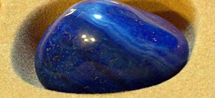 Голубой агат: свойства прекрасного камня