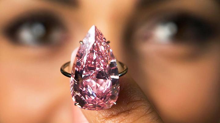 Яшма и розовый алмаз
