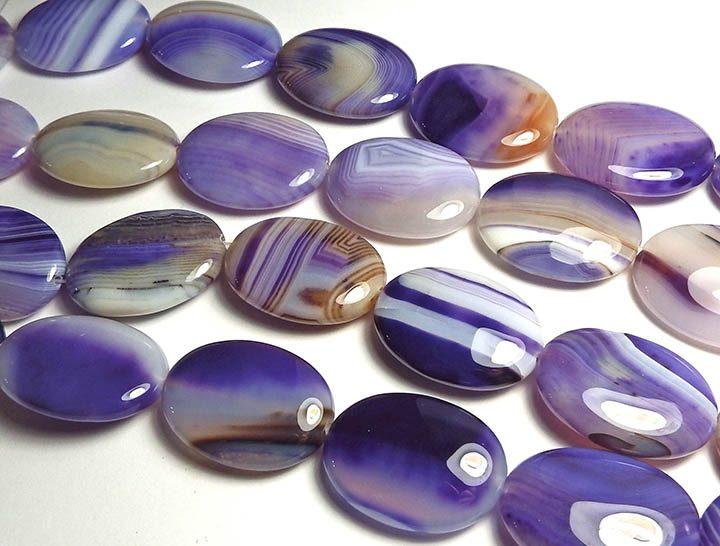 фиолетовый агат
