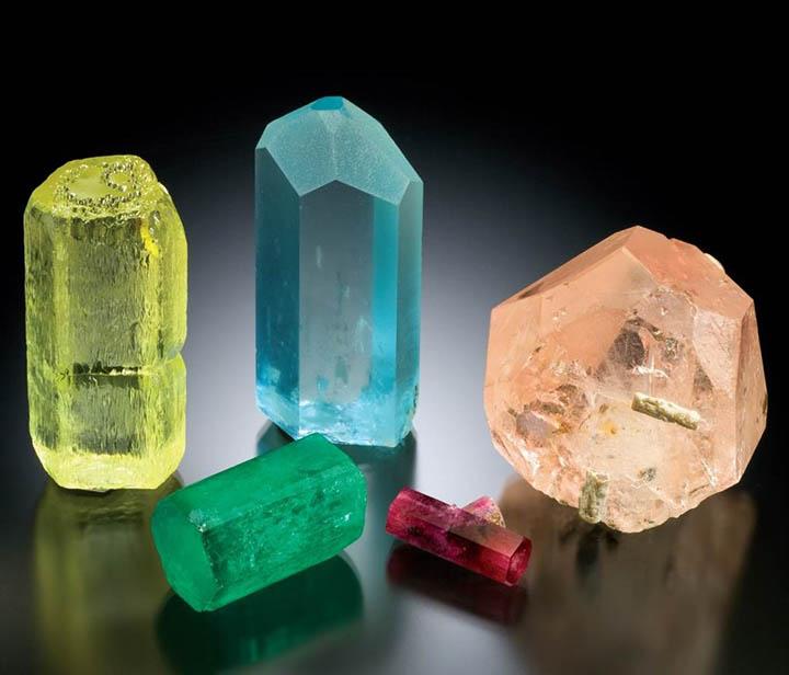 бериллы разновидности разного цвета