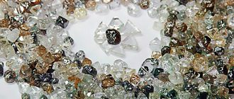 Технический алмаз и его особенности