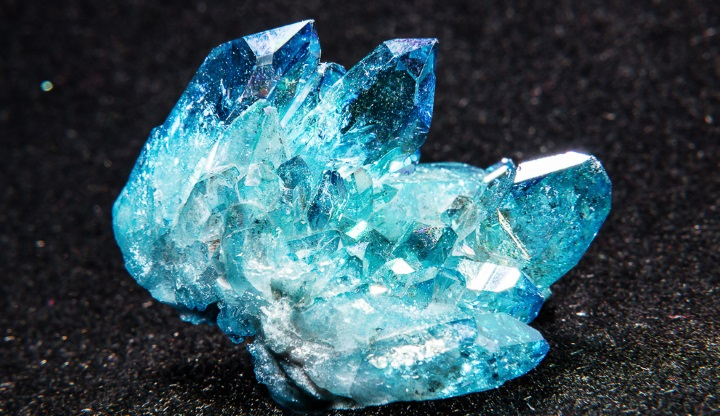 голубой кварц