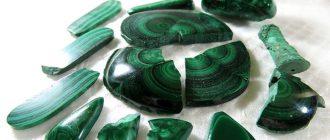 Камень малахит и его свойства