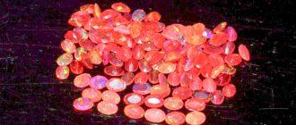 Огненный опал - все тайны хрупкого минерала