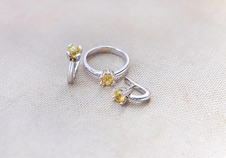 Желтый сапфир: фото и свойства красивого камня