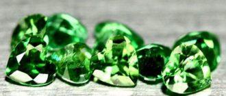 Цаворит камень - какими свойствами обладает